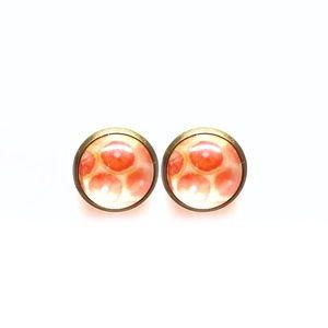 Grapefruit Slices Earrings